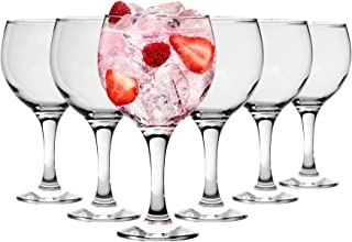 Rink Drink Verres à Cocktail/gin Tonic - Style Espagnol - Lot de 24 Verres Ballons - 645 ML