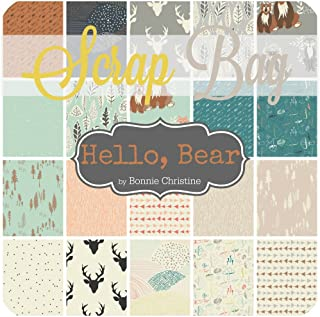 Hello, Bear Scrap Bag (BC.HB.SB) by Bonnie Christine for Art Gallery