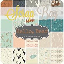 hello bear fabric by bonnie christine