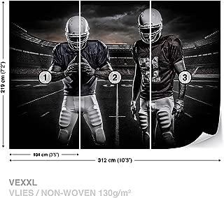 American Football Stadium Wall Mural Photo Wallpaper Room Décor (1111WS)
