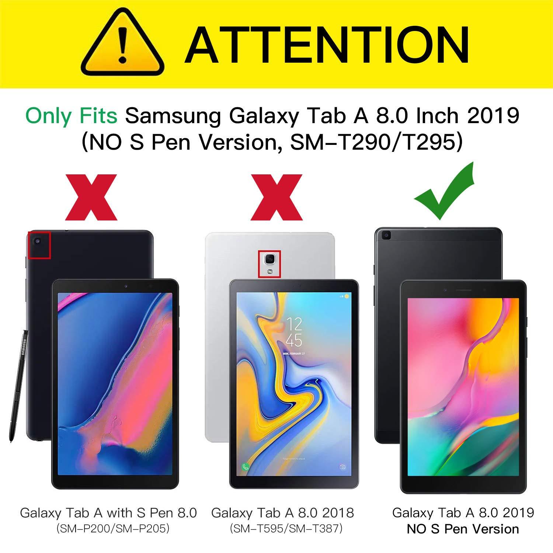 ZtotopCase Funda para Samsung Galaxy Tab A 8.0 Pulgadas 2019 (SM ...