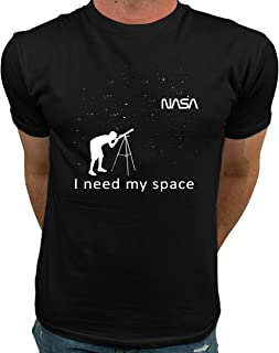 Market Trendz Official Logo NASA I Need My Space NASA T Shirts for Men