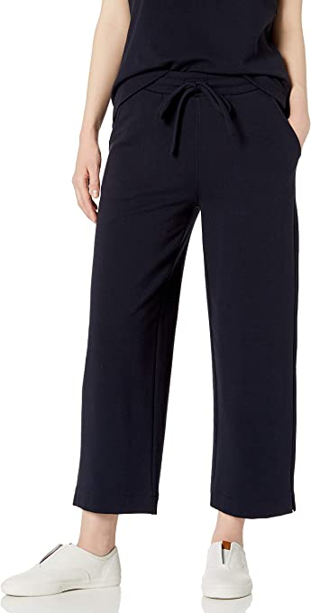 Amazon Brand - Daily Ritual Women's Terry Cotton and Modal Easy Lounge Pant