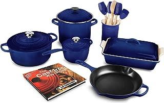 Le Creuset 16-piece Cookware Set (Indigo)