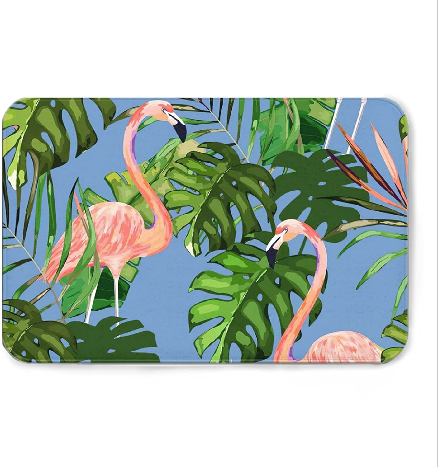 Free shipping on posting reviews Flamingo online shopping Welcome Mat Bath Rugs Fl Doormat Bathroom Non-Slip