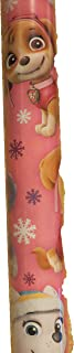 Nickelodeon Large 70sq ft Roll Holiday Christmas Gift Wrapping Paper (Paw Patrol Pink)
