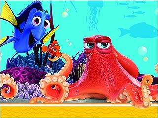 Disney Procos Plastic Tablecover 120X180 Cm Finding Dory - 86651, Multicolor Blu, Giallo