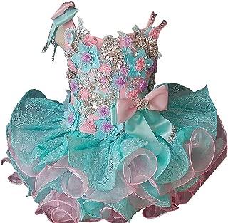 Jenniferwu Infant Toddler Baby Newborn Little Girl's Pageant Party Birthday Dress G276-1pink Size 18-24MONTHS