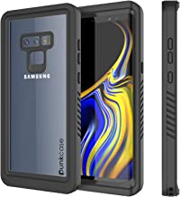 Galaxy Note 9 Waterproof Case, Punkcase [Extreme Series] [Slim Fit] [IP68 Certified] [Shockproof] [Snowproof] [Dirproof] Armor Cover W/Built in Screen Protector for Samsung Galaxy Note 9 [Black]