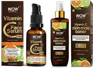 WOW Skin Science Vitamin C Serum - Skin Clearing Serum - Brightening Anti-Aging Skin Repair, Superc & WOW Skin Science Vit...