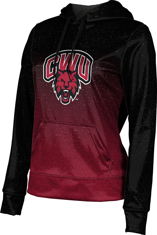 ProSphere Central Washington University Girls' Pullover Hoodie, School Spirit Sweatshirt (Ombre)