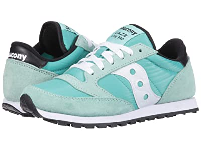 Saucony Originals Jazz Low Pro (Seafoam/White) Women