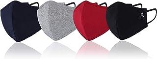 Marc Loire 100% Pure Cotton 6-Layered Super Soft Reusable Washable outdoor protection face mask for men/women 11x15 cm
