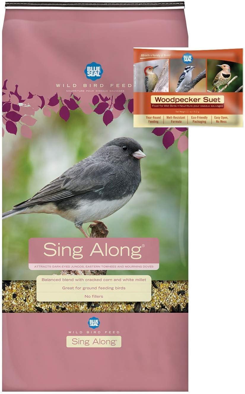 BLUE SEAL SALENEW very popular! Sing Along Mix Bird Bundle Seed Cake Popular brand Woodpecker Suet
