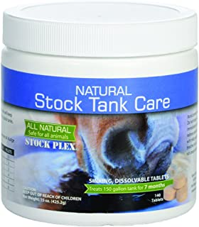 Sanco Industries Natural Stock Tank Care - All Natural Stock Tank Cleaner - 7 Month Supply - Safe for All Livestock and Wildlife