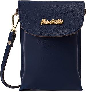 Verobelle Women Fashion Bag Purse Mobile Sling Bag with 2 Card Holder Outdoor Shoulder Crossbody Evening Sling Bag