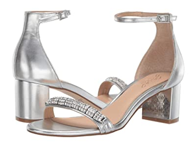 Jewel Badgley Mischka Ramsay (Silver) Women