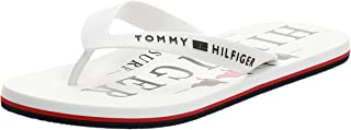 Tommy Hilfiger Nautical Print Beach Sandal, Bout Ouvert Homme