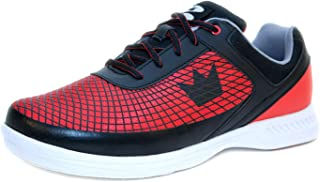 Brunswick Bowling Scarpe Frenzy Black Red