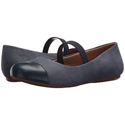 SoftWalk Napa MJ (Denim Jeans/Dark Blue Soft Leather/Smooth PU) Women