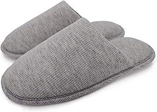 Ropa cómoda para Mujeres,Sandalias de casa de algodón orgánico,limpiando Zapatos Interiores y Exteriores.