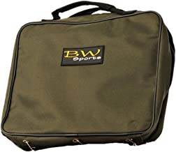 BW Sports Large Tackle Binder, Organized Storage for Pre-Tied Leaders, Soft Plastics, Off Shore Fly Patterns and Fly Tying Materials