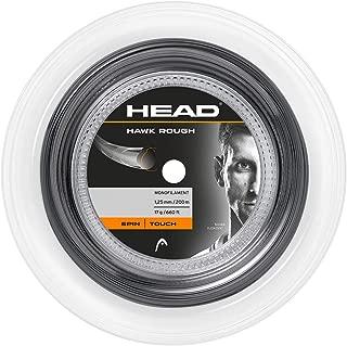 Head Hawk Rough Tennis Racket String 660' Reel - 17 Gauge Monofilament Racquet String