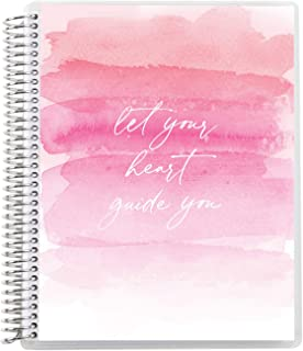 """$22 » Erin Condren 8.5"""" x 11"""" Spiral Coiled Notebook (Graph Paper) - Heart Quote Interchangeable Cover with 160 Pages, 80 Sheets..."""