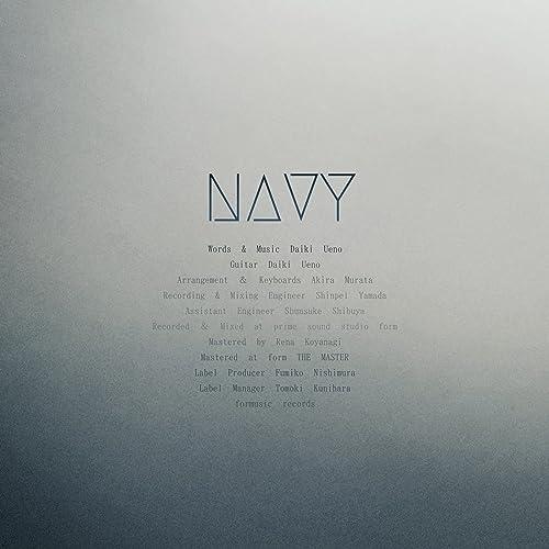 [Single] 上野大樹 (Daiki Ueno) – NAVY [FLAC + MP3 320 / WEB]