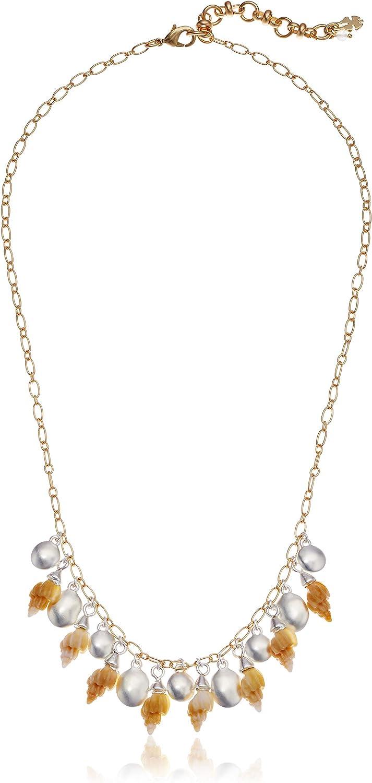 Lucky Brand Seashell Collar Necklace