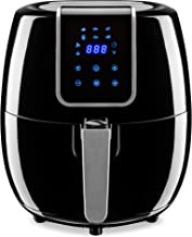 Best Choice Products 5.5qt 6-in-1 Digital Family Sized Air Fryer Kitchen Appliance w/LCD Screen and Non-Stick Fryer Basket, Black