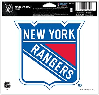 WinCraft NHL New York Rangers Multi-Use Colored Decal, 5