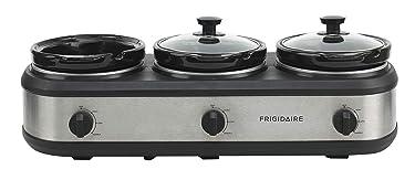 FRIGIDAIRE ESC3105-SS Triple Slow Cooker Buffet Server, Stainless