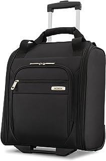 Samsonite Advena Underseat Carry on Luggage with Wheels, Black (Black) - 109591-1041