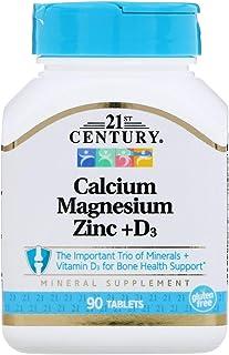 21st Century Cal Mag Zinc D3, 90 Tablets
