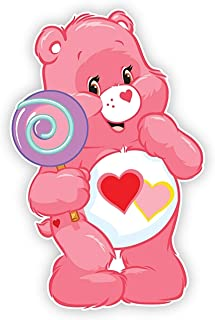 Love A Lot Care Bear Iron On Transfer for T-Shirts & Other Light and Dark Color Fabrics #4 Divine Bovinity