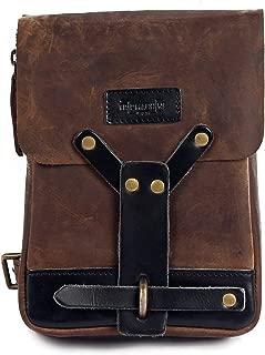 Trip Machine Company Leather Thigh Bag Tobacco Brown