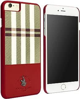 Santa Barbara Polo & Racquet Club Plaid Series Case for iPhone 6/6s (Red)