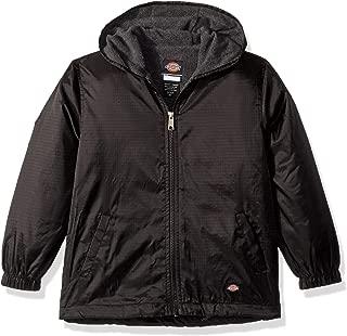 Big Kids Fleece Lined Hooded Jacket