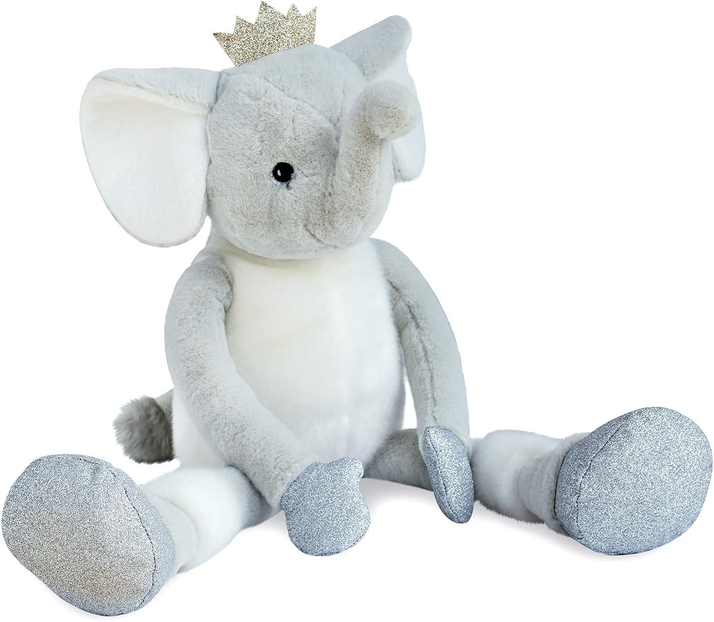 Histoire d'Ours HO2856 Eléphant elfy 60cm - les petits twist, grau