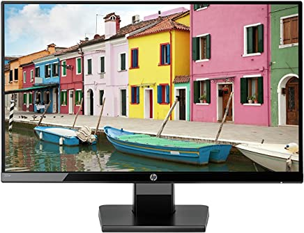 "HP Monitor 22w Borderless, 21.5"" Full HD, color Negro"