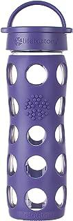 Lifefactory Classic Cap Glass Water Bottle, 475ml, Royal Purple, LF220003C4AUS