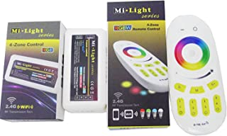 LEDENET 2.4G 4-Zone RGB Controller Dimmer Touch RF RGBW Remote Control Dimmable RGB LED Light Strips