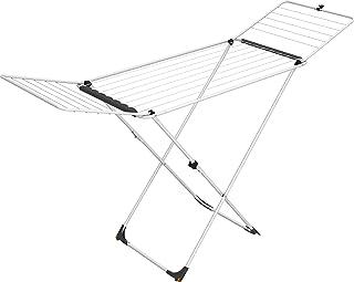 Vileda Universal Étendoir à Linge à chevalet, Acier, Blanc, 5x 55x 129cm