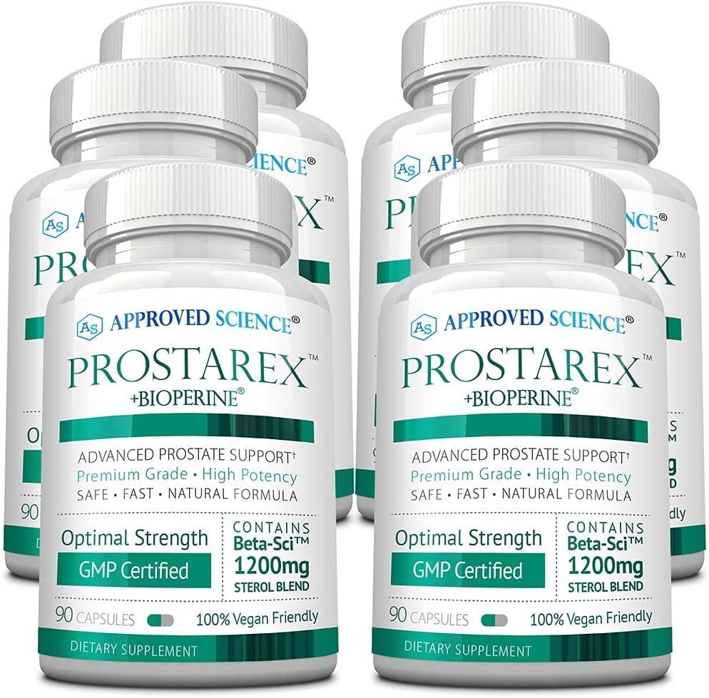 Max 58% We OFFer at cheap prices OFF Approved Science® Prostarex - Prostate Health Support Streng