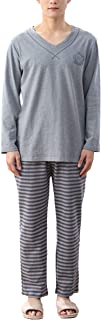 Pajamas Men's Casual Fashion Loose Homewear Nightwear Long Sleeve Comfortable Sizes Round Neck Printed Patterned Pajamas P...