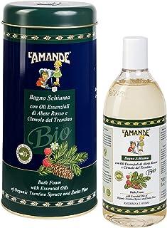 L'Amande Boite badkuip sparren rood/cirmolo Trentino Bio 500 ml