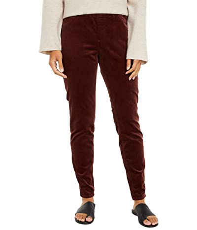 Eileen Fisher Corduroy Jegging (Dark Brown Stone) Women