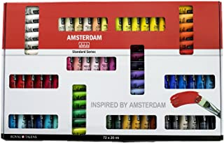 Amsterdam Acrylic Standard Series Paint Set 72x20ml