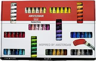 Amsterdam Acrylic Standard Series Paint Set 72x20ml